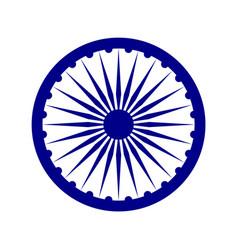 Ashoka chakra vector
