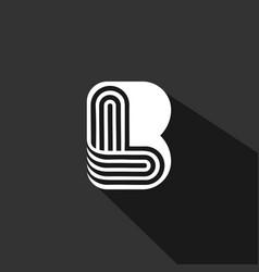 Bl lb logo vector
