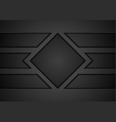 Black technology concept abstract background vector