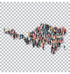 People map country Sint Maarten vector