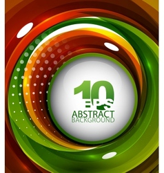 abstract swirl background vector image