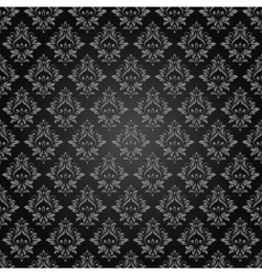 Abstract vintage seamless damask pattern vector image