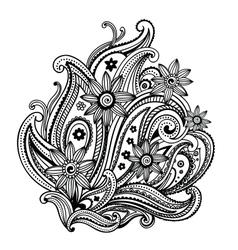 Beautiful ornament vector image