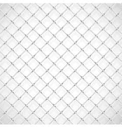 Football goal net vector image vector image