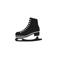 The skates icon Figure Skates symbol Flat vector image