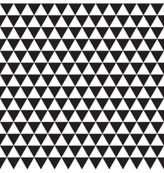 Abstract backdrop Seamless triangle pattern vector image vector image