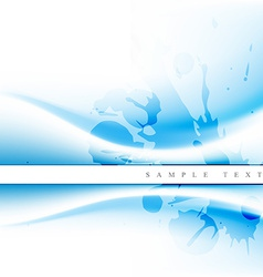blue wave vector image vector image
