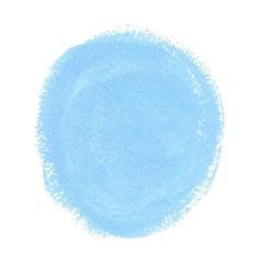 Cyan acrylic paint circle vector image vector image