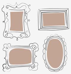 Art frames vector