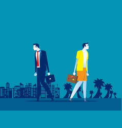 Business people holiday concept business vector