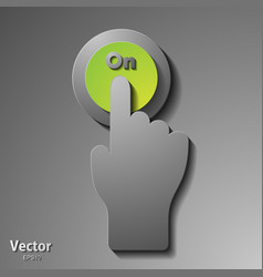 Creative colorful ring hands teamwork concept vector