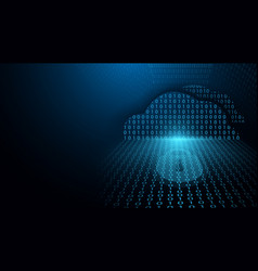 Cyber security and could computing network vector