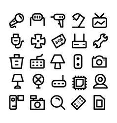 Electronics Icons 8 vector