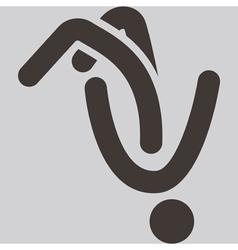 Parkour icon vector