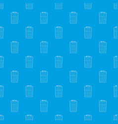 Refrigeration pattern seamless blue vector