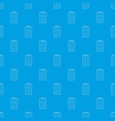 Refrigeration pattern seamless blue vector