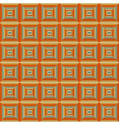 Seamless Squared Orange Pattern vector