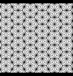 Seamless traditional japanese geometric ornament vector