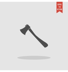 The ax icon Axe symbol vector image