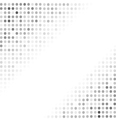 Halftone patterns grey dotted background vector