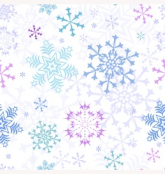 Christmas pastel seamless pattern vector image vector image