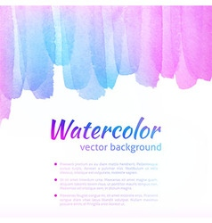 Watercolor Colorful Background vector image vector image