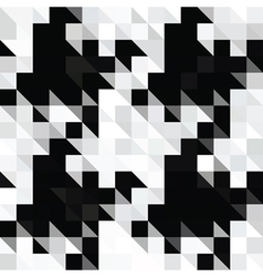 pixels hounds tooth vector image vector image