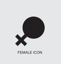 Female icon vector
