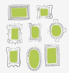 Fun frames vector
