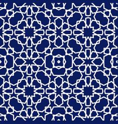 Geometric arabic seamless pattern abstract vector