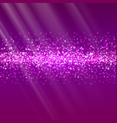 Glitter and bright sand dark background vector