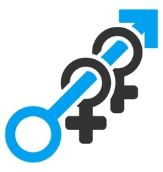 Harem Flat Icon vector image