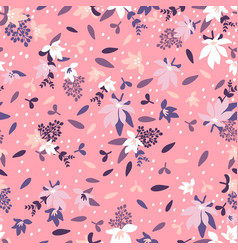 Seamless floral pattern fashion textile pattern vector