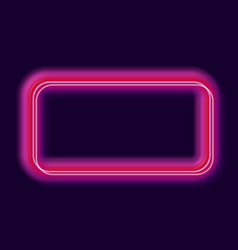 Shiny neon rectangles background vector