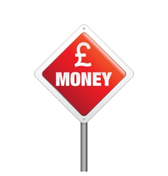 Sterling Money Sign vector image