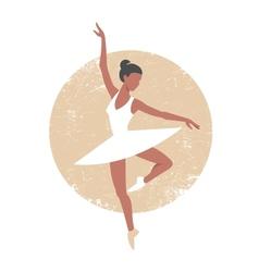Ballerina2 vector image vector image
