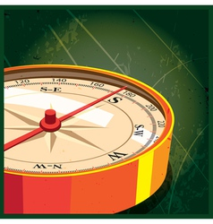 compass south vector image
