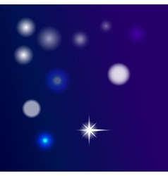 glow blue background vector image