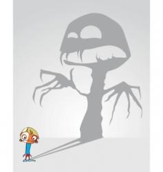 horror vector image vector image