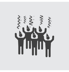Celebration icon vector image vector image
