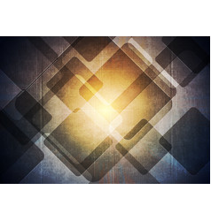 dark grunge geometric background vector image vector image