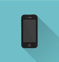 Phone icon minimal style white vector