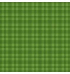 Seamless green vichy pattern vector image
