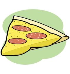 Cartoon pizza vector