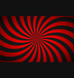 Decorative retro red spiral background swirling vector