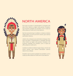 North america traditional vector