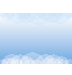 Poligonal background vector image