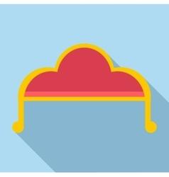 Sofa icon flat style vector