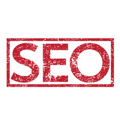 Stamp text seo vector