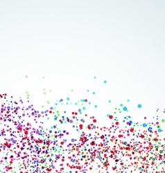 Bright paint stain dot liquid background vector